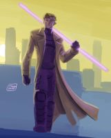 daily sketch 29 Gambit by Niggaz4life