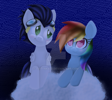 Rainbow Dash x Soarin by Tatynka-G