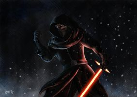 Kylo Ren by Lannarty