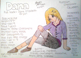 Dana Character Profile by AidensBiggestFan