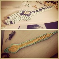 3D Origami Snake by Joeseares96