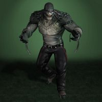 Batman Arkham Origins Killer Croc by ArmachamCorp