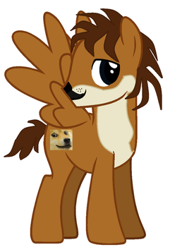 Doge as a pone by TFT-Fire-Doge