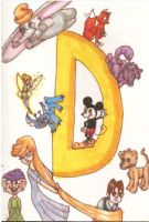 D is for Disney by TheLuckyStarhopper
