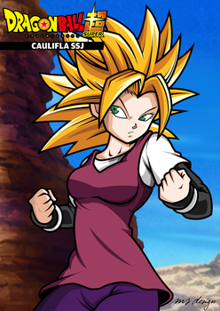 CAULIFLA SSJ - DRAGON BALL SUPER by tech531