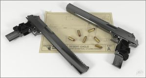 Desert Eagle Concept by sdavis75