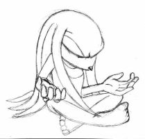 Knuckles - Meditation by carriepika