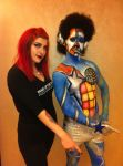 Body Painting with Make Up For Ever by itashleys-makeup