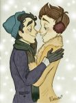 Klaine: Rosy Cheeked and Starry Eyed by Muchacha10