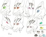 Horrorcow's Emotion Chart by 8ClockworkPurple8