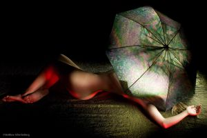 Umbrella light painting by e-string