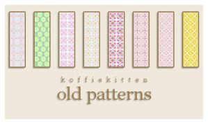 old patterns by koffiekitten