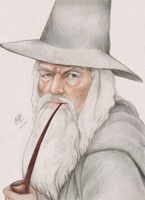 Gandalf the Grey by Yuanchosaan