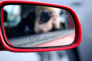 Objects in the mirror. by new-radio
