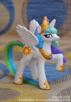 Princess Celestia McDonalds custom by Antych