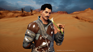 Flower for the Inquisitor - Dorian by BloodberryCrime