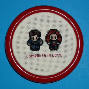 Comrades in Love Cross Stitch by chujo-hime