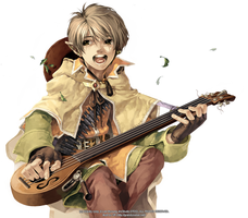 Ragnarok Online 2nd JOB Bard by grandyoukan