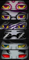 The Hemospectrum Eyes by Darkdeathqueen