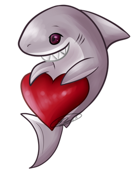 Sharky Hearty by neoxicity