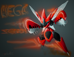 Mega Scizor by Chenks-R