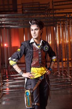 Handsome Jack cosplay by Elena89Hikari