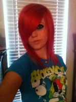 Red Hairr :D by XGothicRawkEvalynX