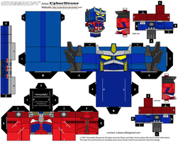 Cubee - Optimus Prime 'Cybertron' by CyberDrone