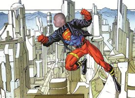 Erik The Bald Superboy by eriksuperboy