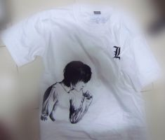 DEATH NOTE  in my t-shirt by kevinandy