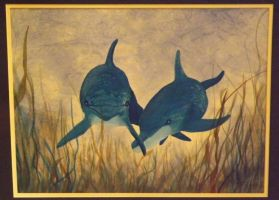 Dolphins by markeverard