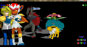 Infernape DL. by ChrisTheDragoon