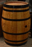 Full wooden barrel 2 by RecreateStock
