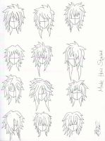 Male hair styles by x-NYAPPY-x