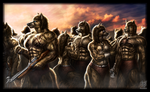 Savannah Front Line (Iloveitems Commission) by Jugg4