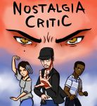 Nostalgia Critic vs Dante Basco by Ary-Capricat