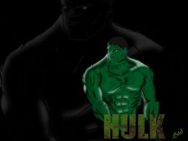 The Hulk by hussainadil