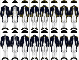 Uniforms of the Royal Navy, 1795-1812 by CdreJohnPaulJones