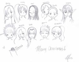 Merry Christmas Friends by Demii-Demmii