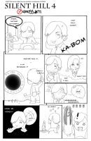 Silent Hill 4 - Comic part2 by kerissakti