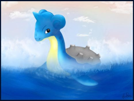 The Legend of Lapras by tesumii