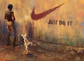 JUST DO IT by zhuzhu