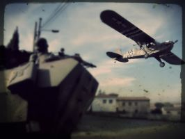 scout plane fly by by furnituresig