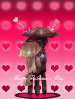 KB: Happy Valentine's Day 2012 by ChibiGuardianAngel