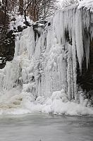 Iced Waterfall 4 by AkimaDoll