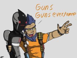 Guns... by UltimateSparkman