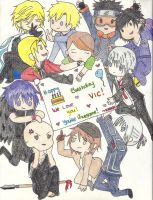 Happy Birthday Vic Mignogna by YourFrozenAngel