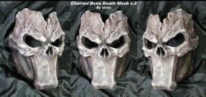 Death Mask v2 Charred Bone by Uratz-Studios