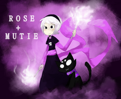 rose + mutie by Dalenchip