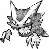 pokemon (haunter) by deathlouis
